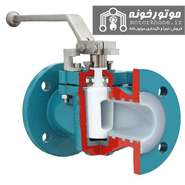 شیرهای سماوری plug or clock valves