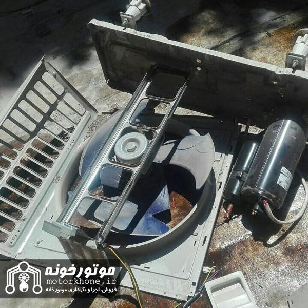 سرویس انواع کولر گازی در کمترین زمان در تهران